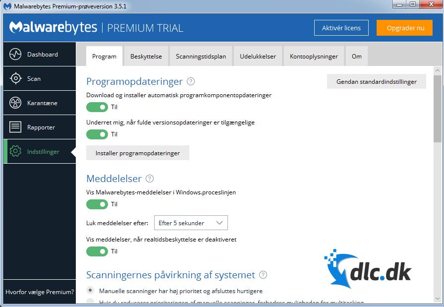 Download Malwarebytes' Anti-Malware Free 3.0 gratis her