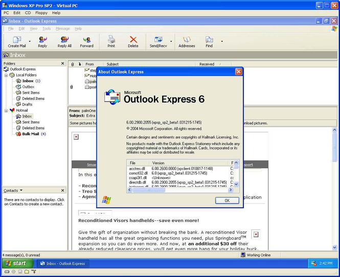 outlook stationery download