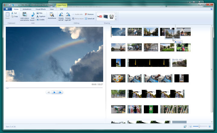 movie maker for window 7 free